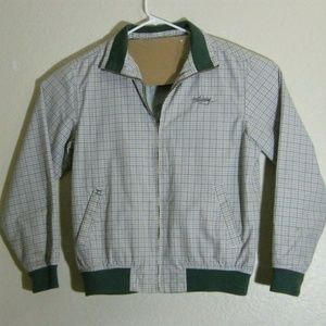 Billabong Men's Zipper Jacket Size Large Green
